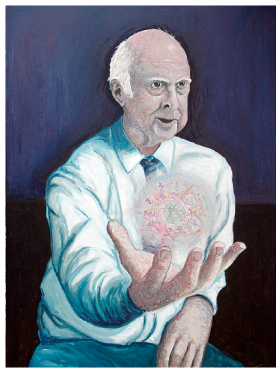 Picture of maybe Peter Higgs