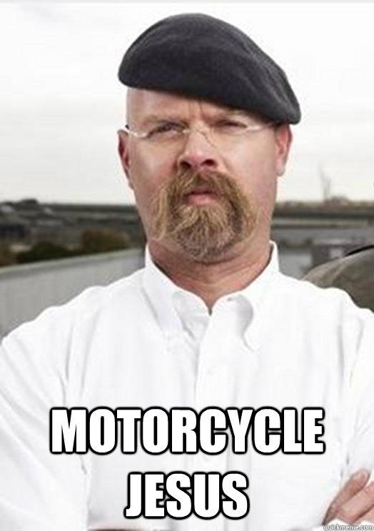 Motorcycle Jesus