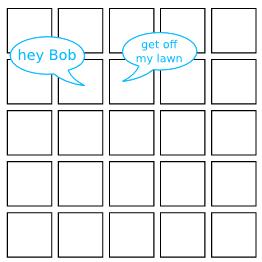 grid people saying hi